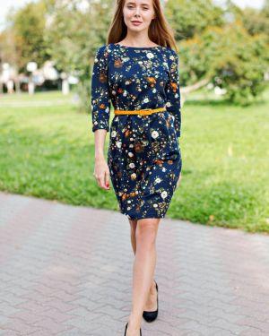 Платье с поясом с цветочным принтом платье-сарафан Lika Dress