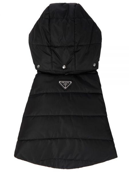 Стеганый жилет - черная Prada