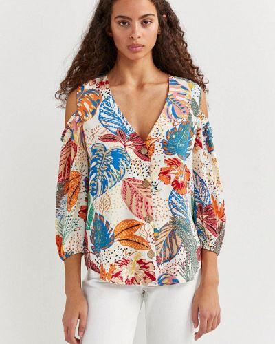 Блузка с открытыми плечами Springfield