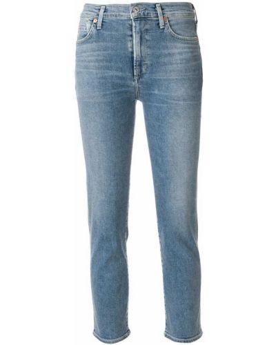 Укороченные джинсы классические на пуговицах Citizens Of Humanity