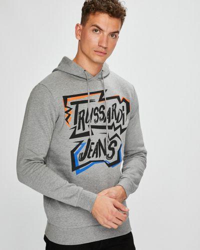Джинсы на резинке эластичные Trussardi Jeans