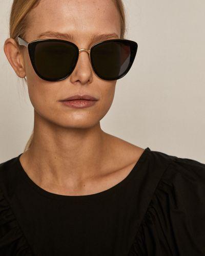 Czarne okulary Medicine