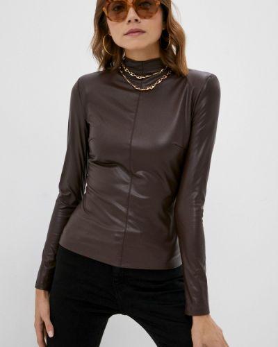 Блузка с длинными рукавами - коричневая Love Republic