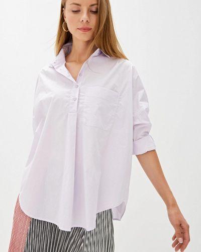 Блузка с длинным рукавом фиолетовый индийский French Connection