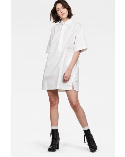 Платье мини трикотажное с карманами G-star Raw