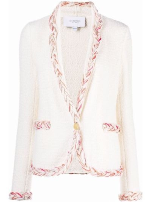 Biała kurtka bawełniana Giambattista Valli