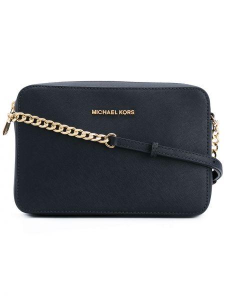 Кожаная сумка через плечо на цепочке Michael Michael Kors