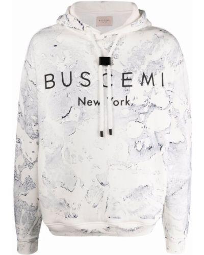 Biały sweter bawełniany Buscemi