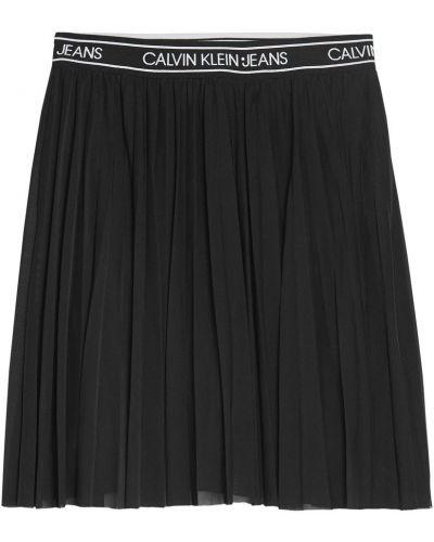 Spódnica midi tiulowa z siateczką Calvin Klein
