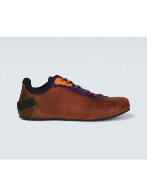 Buty sportowe skorzane - fioletowe Jacquemus