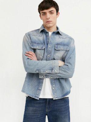 Расклешенная свободная джинсовая куртка Finn Flare