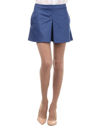 Синие шорты хлопковые Love Moschino