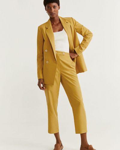 Классический пиджак прямой с подкладкой Mango
