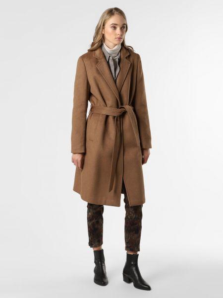 Beżowy płaszcz Marie Lund