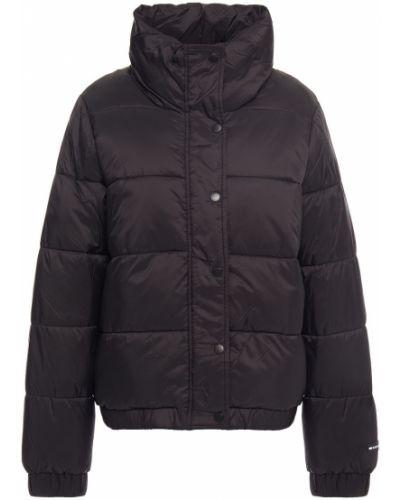 Черная стеганая куртка с манжетами Dkny