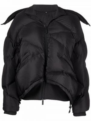 Дутая куртка - черная Mcq