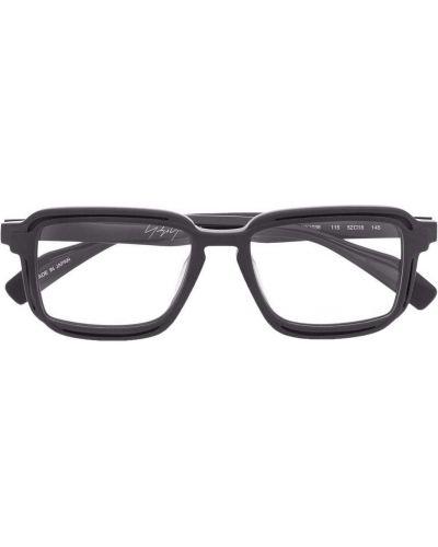 Brązowe okulary Yohji Yamamoto