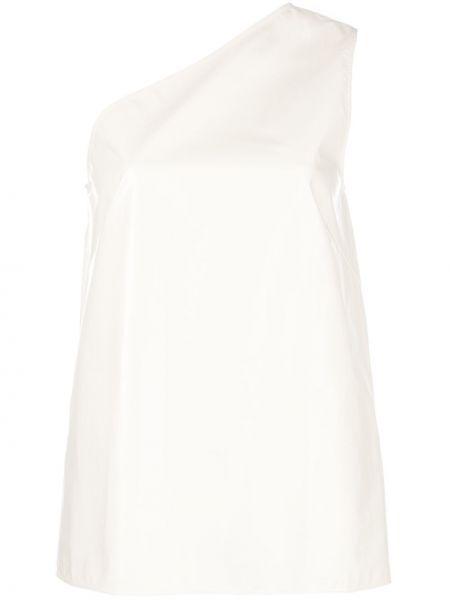 Топ с американской проймой белый Calvin Klein 205w39nyc