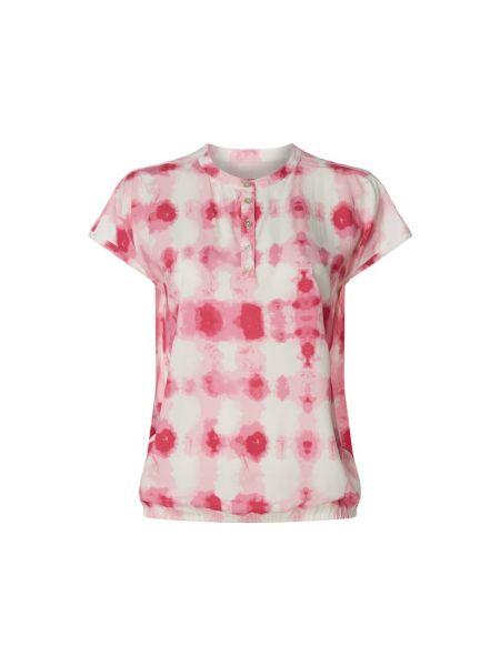 Bluzka z wiskozy - różowa Lieblingsstück
