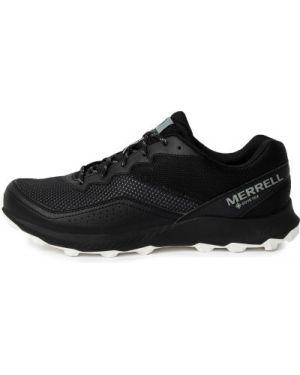 Спортивные текстильные черные кроссовки беговые для бега Merrell