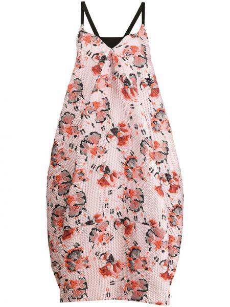 Платье розовое на бретелях Henrik Vibskov
