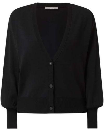 Czarny sweter z dekoltem w serek Jake*s Collection