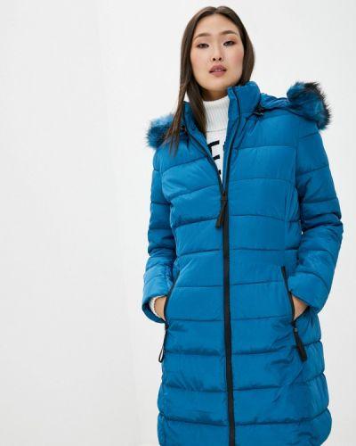 Теплая синяя утепленная куртка Adrixx