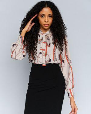 Блузка с принтом Mix-mode
