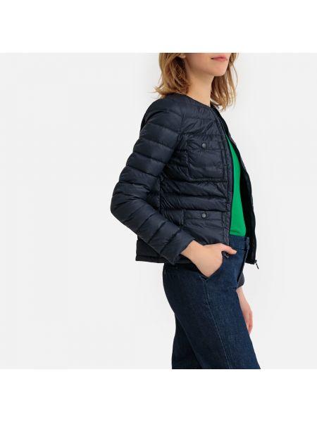 Утепленная куртка стеганая укороченная La Redoute Collections
