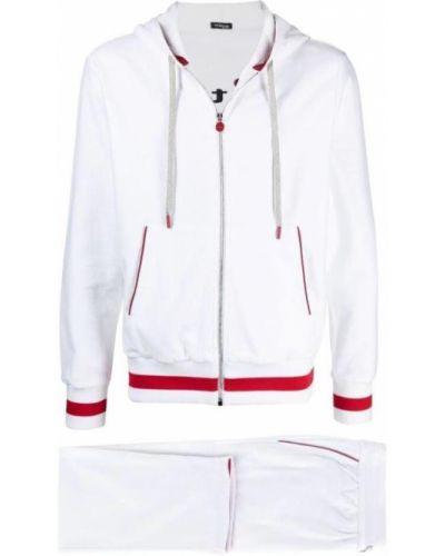 Biały dres Kiton