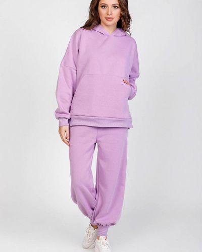 Костюмный фиолетовый спортивный костюм Magnet