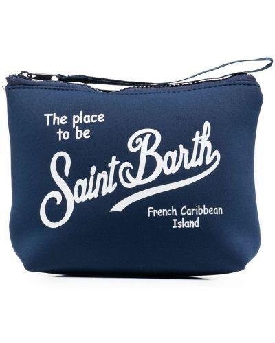 Синий клатч на молнии из неопрена Mc2 Saint Barth Kids