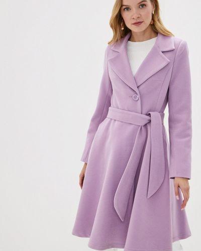 Пальто демисезонное розовое Karolina