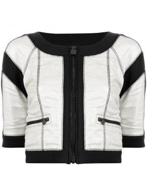 Белая хлопковая куртка Chanel Pre-owned