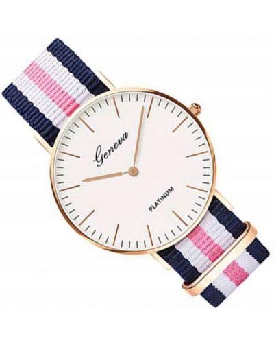 Klasyczny różowy złoty zegarek Geneva