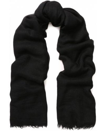 Черный шарф Rick Owens