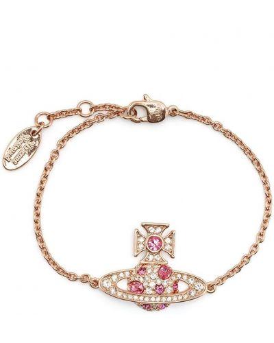 Браслет с подвесками - розовый Vivienne Westwood