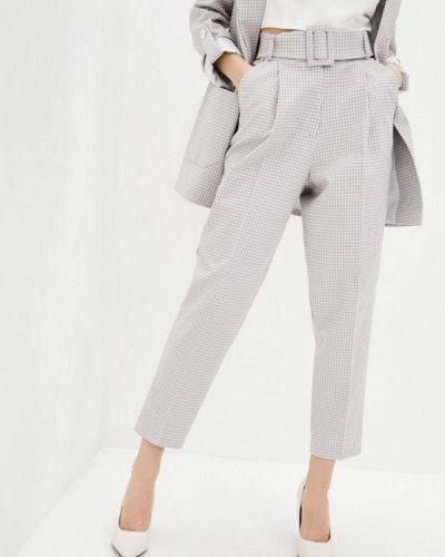 Бежевые классические брюки Zubrytskaya