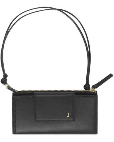 Черная сумка на молнии Jacquemus