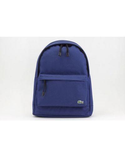 Niebieski plecak na laptopa Lacoste