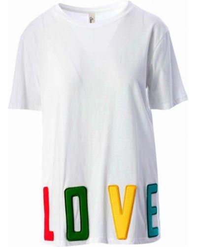 Biała t-shirt Souvenir