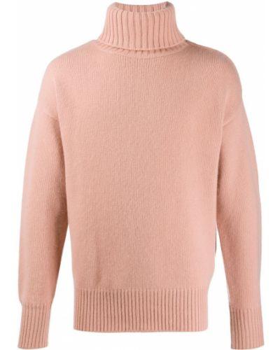 Джемпер в полоску светло-розовый Extreme Cashmere