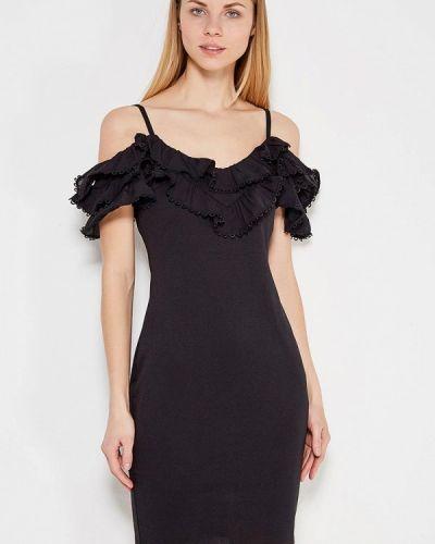 Черное платье весеннее Lost Ink.