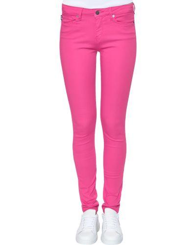 Розовые джинсы Love Moschino