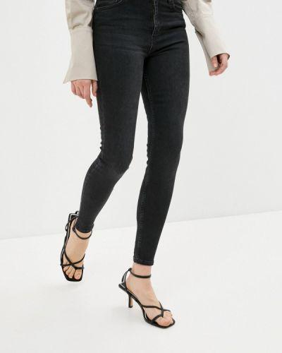 Черные джинсы-скинни узкого кроя Defacto