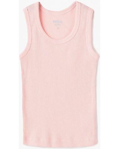Розовый топ Modis