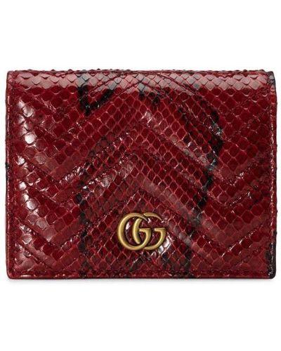 Złoty portfel Gucci