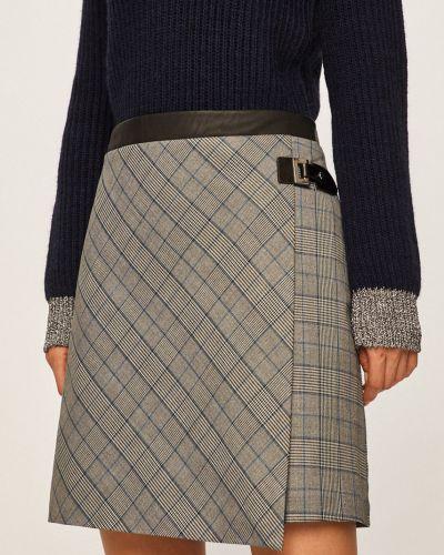 Spódnica z wzorem z wiskozy Morgan