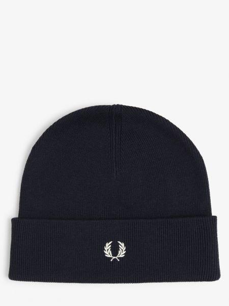 Niebieski czapka baseballowa Fred Perry