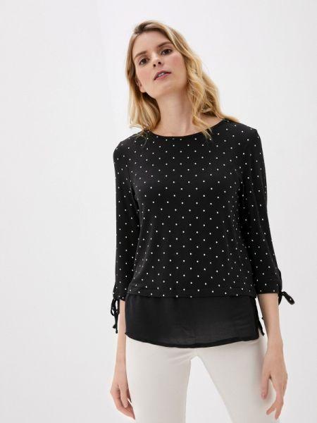 Блузка с длинным рукавом черная весенний Defacto